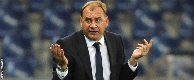 Manager Vladimir Weiss