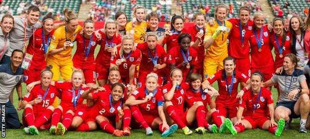England beat Germany to win bronze in Canada