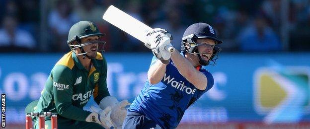 Eoin Morgan made just 64 runs at an average of 12.80 in the series, but did overtake Allan Lamb to go eighth on England's list of all-time leading ODI run-scorers