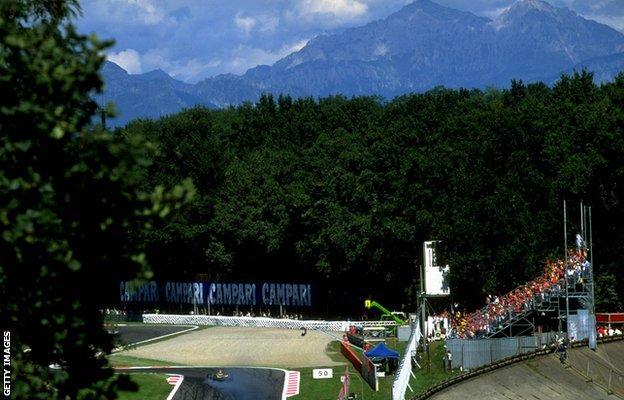 Monza in 1998