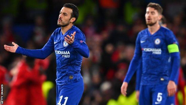 Chelsea's Pedro and Jorginho