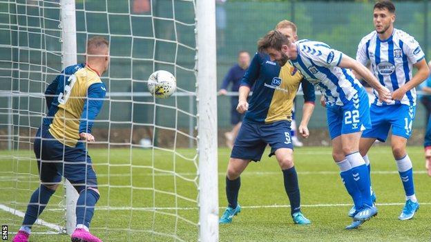 Kilmarnock beat East Kilbride 2-0 in their League Cup opener on Saturday
