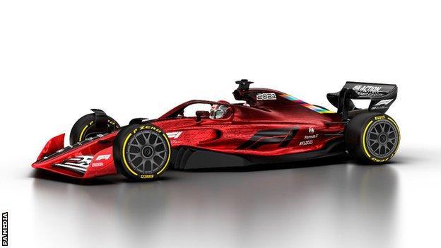 F1 2021 car