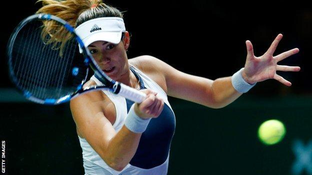 Garbine Muguruza beats twice Wimbledon champion Petra Kvitova