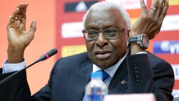 Lamine Diack: Former IAAF president to stand trial in France on corruption charges thumbnail