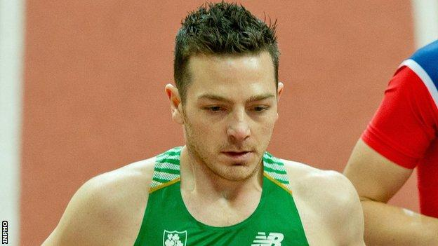 Danny Mooney competed for Northern Ireland at the 2014 Commonwealth Games