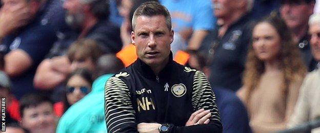 Millwall manager Neil Harris