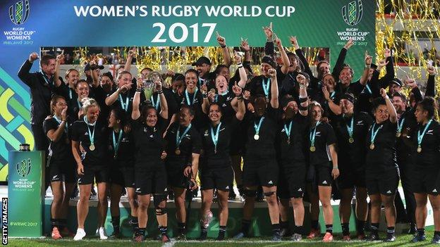 New Zealand win 2017 Women's Rugby World Cup