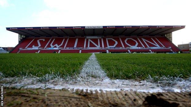 Swindon Town's County Ground stadium