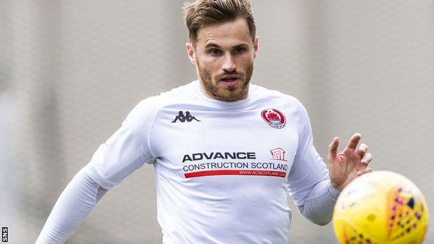 David Goodwillie of Clyde