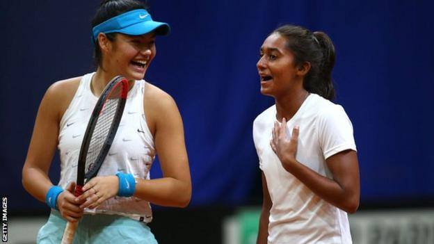Naiktha Bains and Emma Raducanu