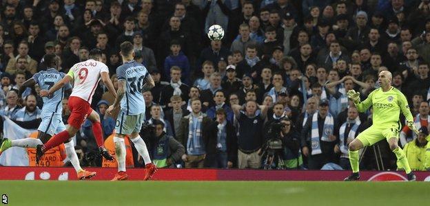 Radamel Falcao's chipped goal against Manchester City