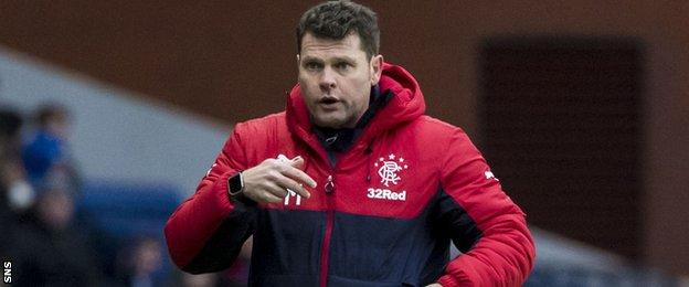 Graeme Murty is in interim charge at Rangers