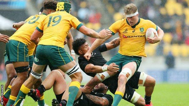 Mo'unga given nod at flyhalf for New Zealand v Australia