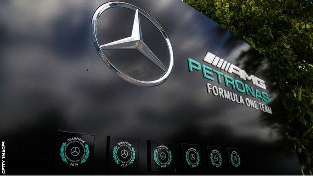 Mercedes have won the drivers' and constructors' titles in each of the past six Formula 1 seasons