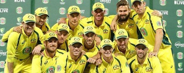 Australia ODI squad