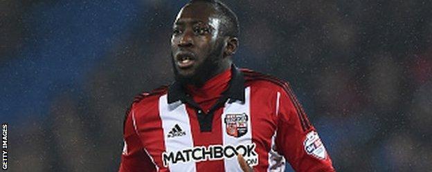 Rangers have had a bid rejected for Brentford midfielder Toumani Diagouraga