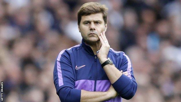 Tottenham Mauricio Pochettino Finds Relief At End Of Difficult Week Bbc Sport