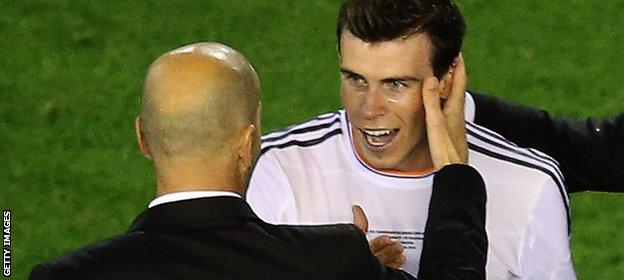 Zidane is a big fan of Bale