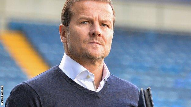 Notts County manager Mark Cooper