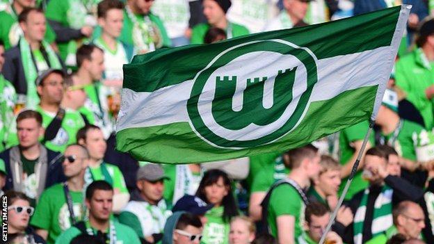 Wolfsburg fans