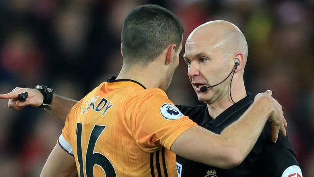 """Conor Coady: Wolves captain claims VAR is """"confusing"""" and """"not working"""" thumbnail"""