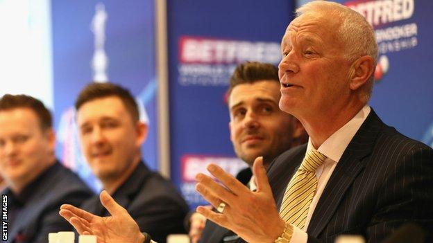 Barry Hearn has spent decades operating in snooker, darts and boxing