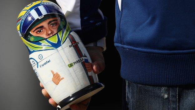 Felipe Massa doll