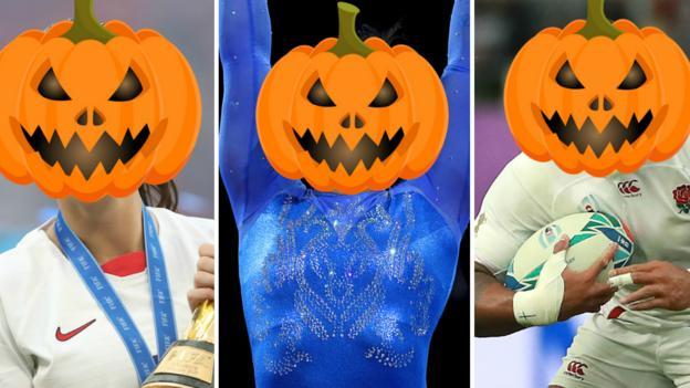 Halloween pumpkin quiz: Can you guess the sports stars hiding behind Halloween pumpkins? thumbnail