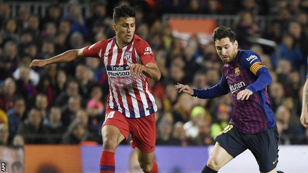 Rodri and Lionel Messi