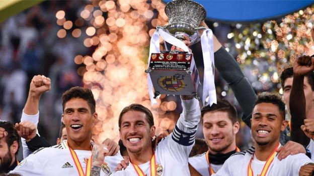 Spanish Super Cup: Real Madrid beat Atletico Madrid on penalties thumbnail