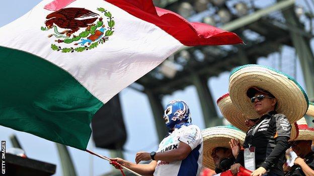 Mexican GP fans