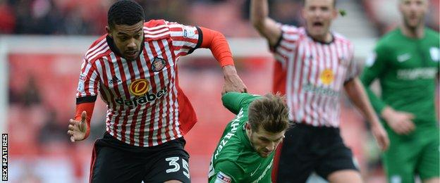 Jake Clarke-Salter (left) in action before being sent off