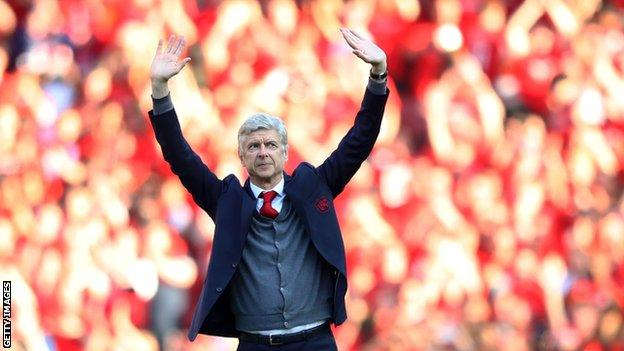 I'll return to football but maybe not to management - Wenger