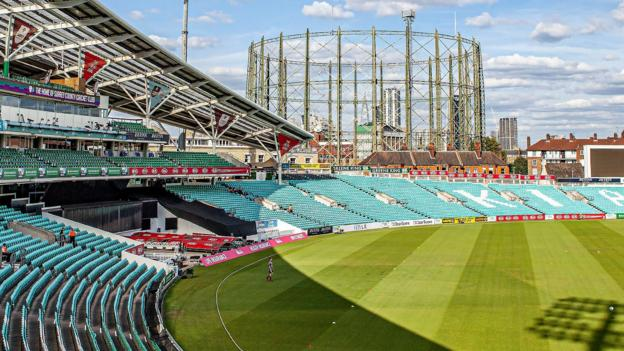 The Oval: Surrey plan to reduce capacity to 6,000 if cricket restarts thumbnail
