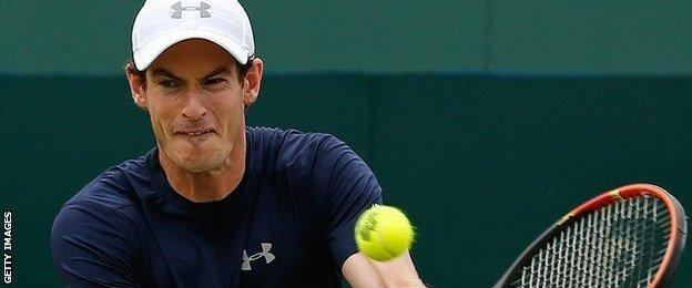 Andy Murray on GB duty