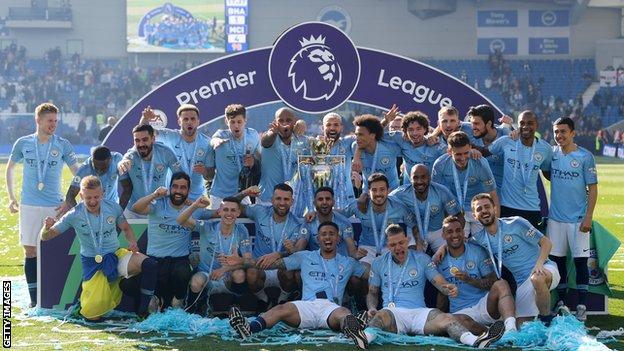 Manchester City won the Premier League, FA Cup and League Cup last season