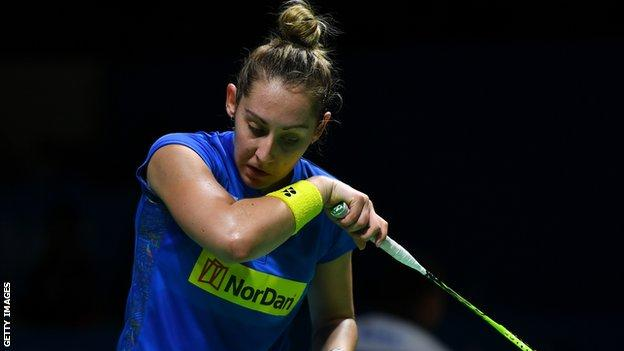 Kirsty Gilmour took silver at the Orleans Masters