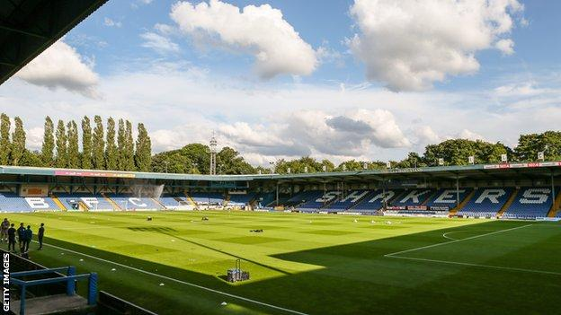 Bury FC stadium Gigg Lane