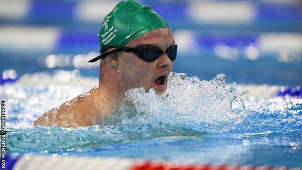 Newry swimmer Peadar Connolly