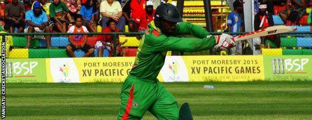Vanuatu batting