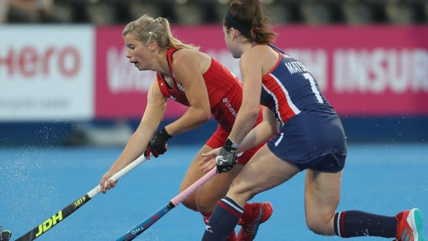 Hockey Women's World Cup: England face battle to reach quarters after USA draw -...
