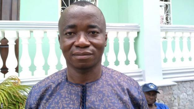 Executive chairman of Sierra Leonean club Bo Rangers Babadi Kamara