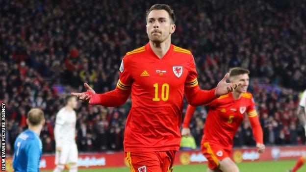 Le doublé d'Aaron Ramsey contre la Hongrie a réservé la place du Pays de Galles à l'Euro 2020