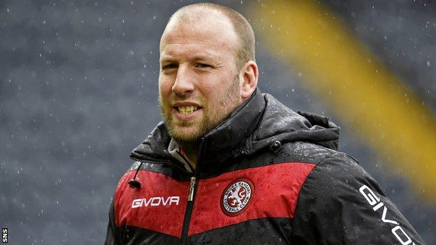 Brora Rangers manager Ross Tokely