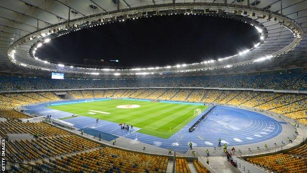 Ukraine's Olympic Stadium in Kiev