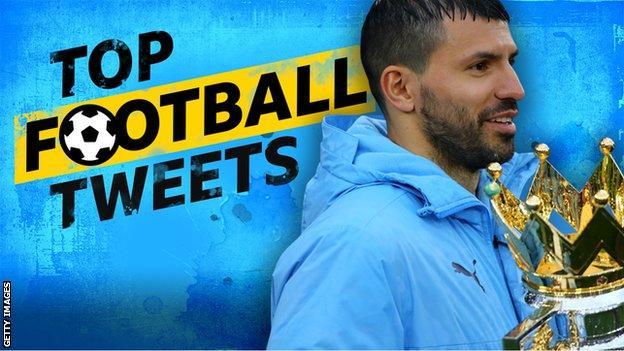 Top Football Tweets: Sergio Aguero.