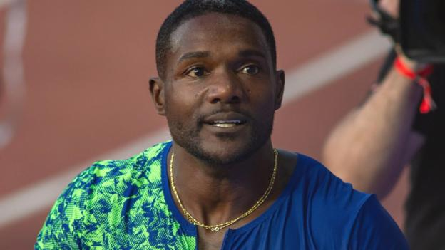 Justin Gatlin: World 100m champion pulls up injured after prep race for Doha defence thumbnail