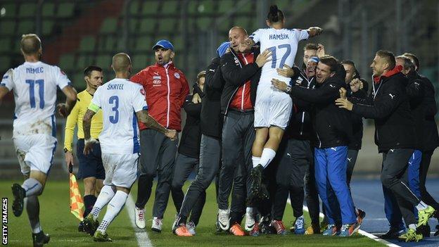 Slovakia celebrate