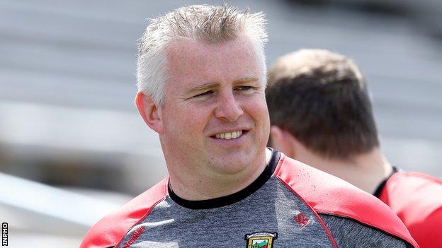 Former Mayo manager Stephen Rochford